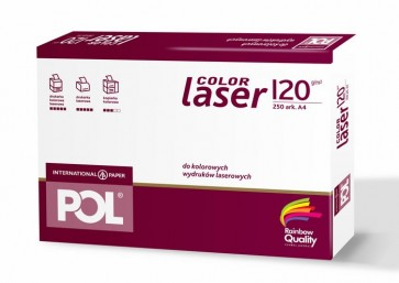 Papier PolColor Laser 120g/m2 A4