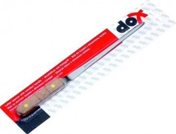Nóż do kopert Dox z drewnianą rączką
