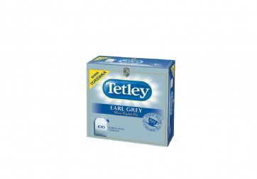 Herbata ekspresowa Tetley Earl Grey 100 szt.