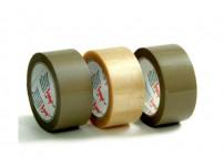 Taśma pakowa VIBAC solvent 48/60m brązowa