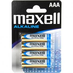 Baterie  MAXELL Alkaline  AAA LR3 (4)