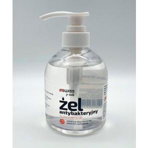 Żel do higienicznej dezynfekcji rąk 4Swiss 500ml z pompką
