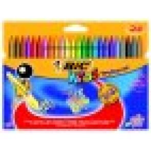 Kredki świecowe Plastidecor Bic Kids 24 kolory