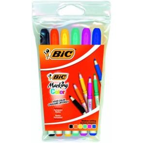 Markery Mini Bic Kids Velleda 6 kolorów