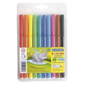 Flamastry 7790 Centropen 10 kolorów