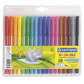 Flamastry 7790 Centropen 18 kolorów