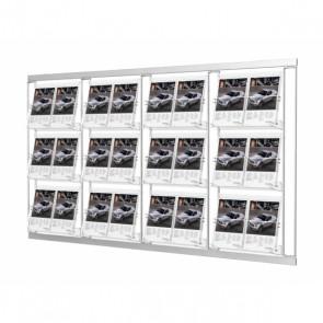 Modułowy zestaw 12 kieszeni A4 poziomo 4 x 3  Art 214 v3