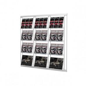 Modułowy zestaw 12 kieszeni A4 poziomo 3 x 4  Art 214 v4