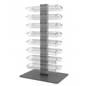 Dwustronny obrotowy stojak na lakiery do paznokci (140) Art  822v3 g