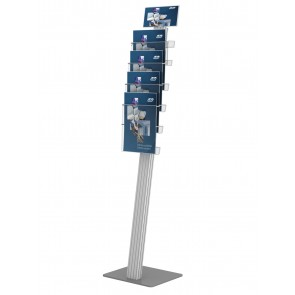 Prezenter stojak na ulotki 4 x A4 + toper DL Art 823