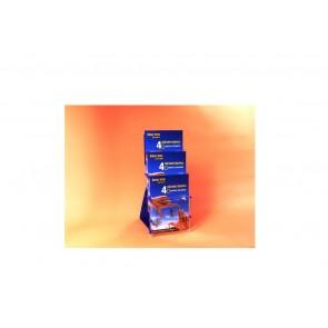 stojak na ulotki A5  3 kieszenie pionowo art 6660