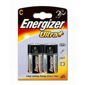 Baterie alkaliczne Energizer Ultra+ LR14 C op.2