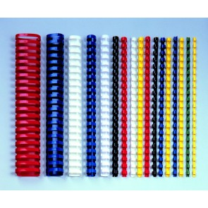 grzbiety plastikowe do bindowania 5mm Argo