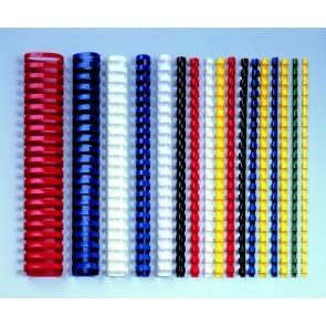 grzbiety plastikowe do bindowania 16mm Argo