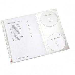 Koszulki na dokumenty i cd Leitz combo