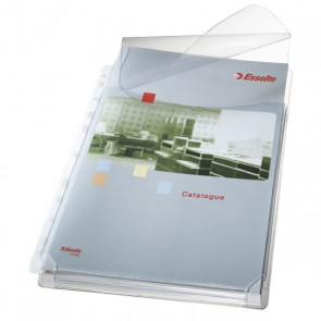 Koszulki groszkowe na katalogi z klapką Esselte