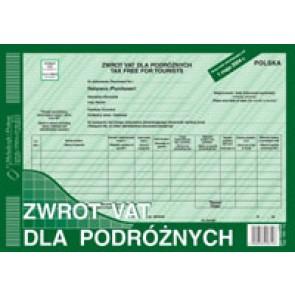 Druk zwrot VAT dla podróżnych