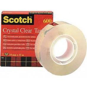 Scotch Crystal taśma samoprzylepna 19x33m