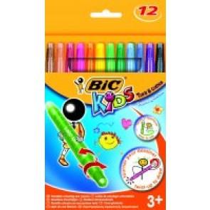 Kredki Turn & Color Bic Kids 12 kolorów