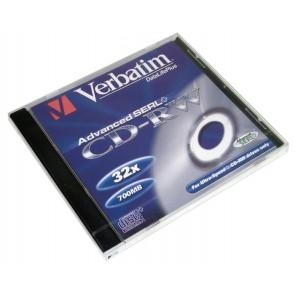 Płyty wielokrotnego zapisu Verbatim 700mb CD-RW
