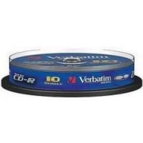 Płyty Verbatim 700MB pudełko typu cake 10 szt.