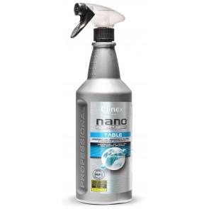 Preparat do dezynfekcji powierzchni CLINEX NANO PROTEC TABLE 1L z rozpylaczem