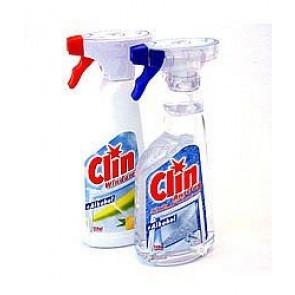 CLIN Płyn do mycia szyb z pompką 500ml