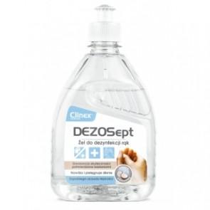 Żel do dezynfekcji rąk CLINEX DEZOSEPT 500ml, Wirusobójczy