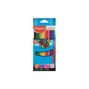 Kredki plastikowe Color ' Peps 12 kolorów