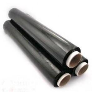 Folia stretch ręczna 23 microny czarna 1.5 kg.