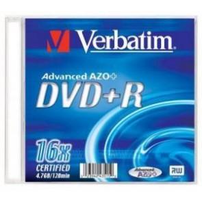 Płyta jednokrotnego zapisu Verbatim 4.7gb
