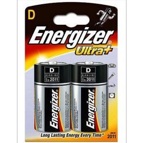 Baterie alkaliczne Energizer Ultra+ LR20 D op.2
