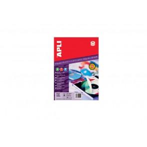 Etykiety na nośniki danych Apli CD nieprzezroczyste