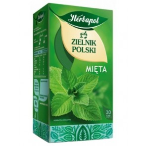 Herbata ekspresowa Herbapol Mięta. 20 szt.