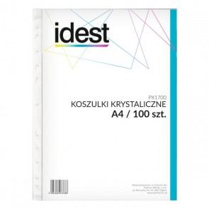 Koszulki krystaliczne IDEST 50 mic.op.100 szt