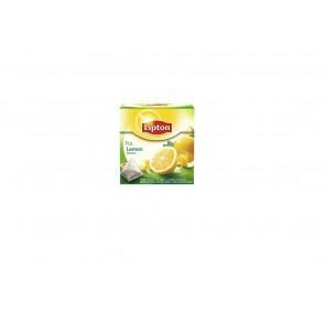 Herbata ekspresowa Lipton  Lemon Tea czarna cytrynowa, 20 torebek piramidek