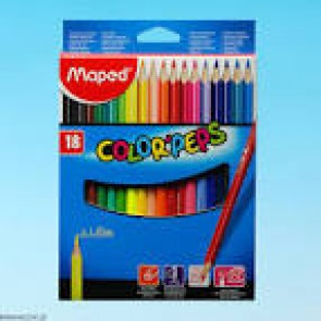 Kredki Maped Color  ' Peps 18 kolorów