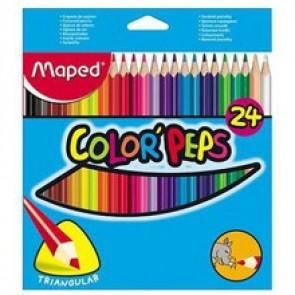 Kredki Maped Color ' Peps  24 kolory