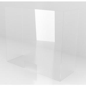 Osłona zabezpieczająca PLEXI 100x70x30 cm. Os8
