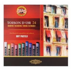 Pastele suche Toison D'OR 12 kolorów