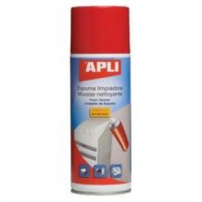 Pianka czyszcząca Apli 400 ml. Antystatyczna