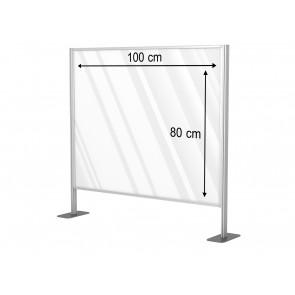 Aluminiowa przegroda formatu 100 x 80 cm. Art 031b