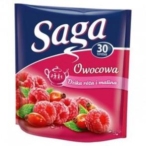 Herbata ekspresowa Saga owocowa Dzika róża z maliną 25 szt.