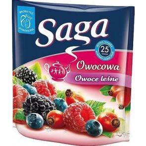 Herbata ekspresowa Saga owocowa Owoce leśne 25 szt.