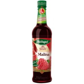 Syrop owocowy Herbapol o smaku malinowym 420ml