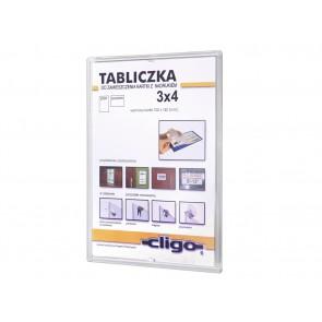 Tabliczka samoprzylepna 11 x 15 cm Art 491