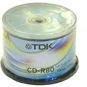 Płyty Tdk 700mb pudełko typu cake 50 szt.